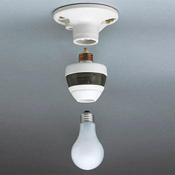In Motion Sensing Light Socket