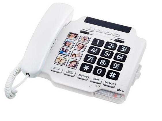 amplified big button picture speakerphone6
