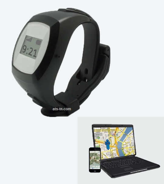 Gps Locator Tracking Watch With Fall Detection