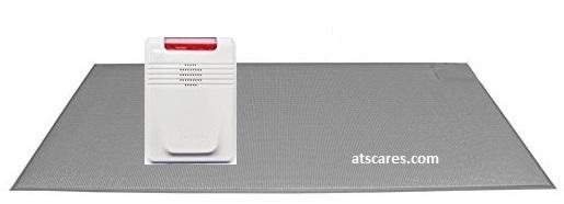 Cordless Floor pressure Mat with Long Range Wireless Alert